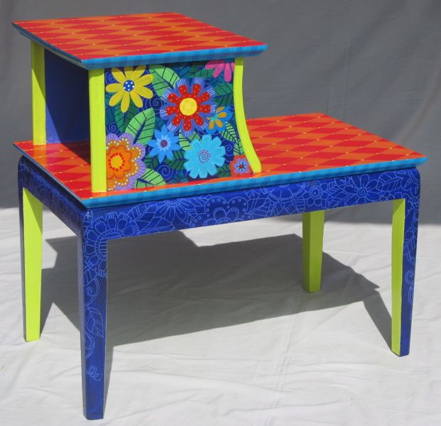 1194 Best Images About Art Painted Furniture On Pinterest
