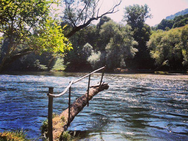 River Vrbas. Banja Luka Bosnia & Herzegovina #womanisttravel #spiritfood #visitbosnia