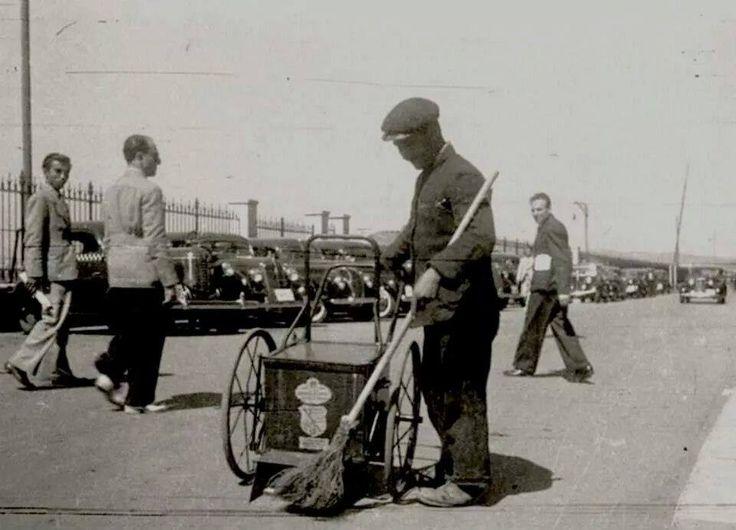 İstanbulda bir çöpçü 1940