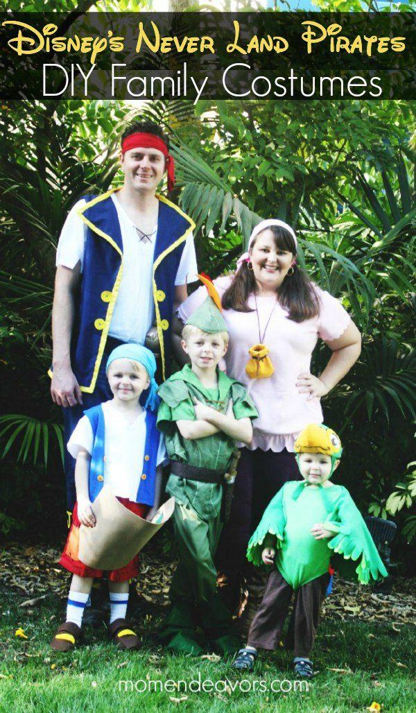 DIY Disneys Jake The Never Land Pirates Family Costumes