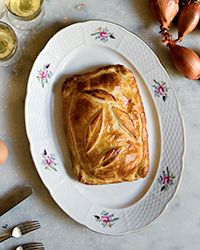 Ham-and-Cheese Puff Pastry Tart | Food & Wine