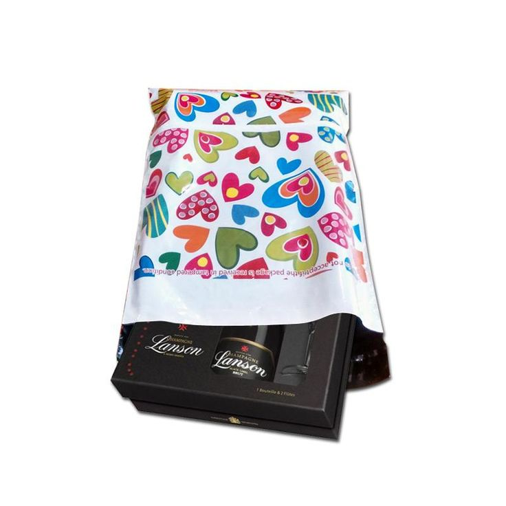 Lowest price on quality premium printed courier bags with Hearts. Shop online from PackingSupply.in & Save more!
