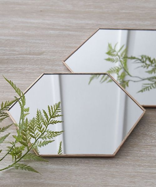 Graphism copper mirror from £22.50 - half price