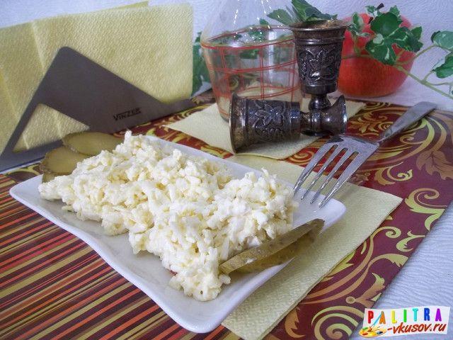 Салат «Еврейский» С Плавленным Сыром