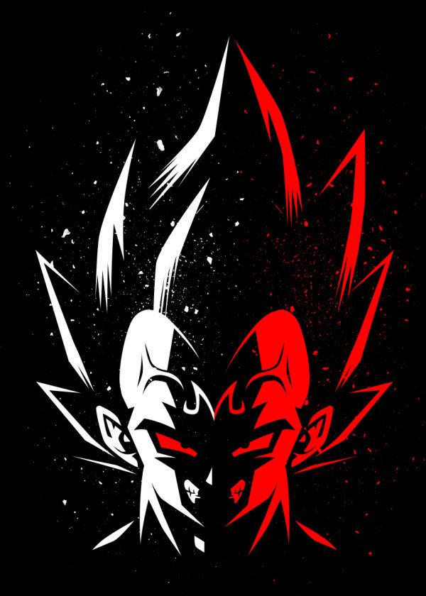 Prince Saiyan Poster Print By Alberto Perez Displate In 2020 Anime Dragon Ball Super Dragon Ball Artwork Dragon Ball Tattoo