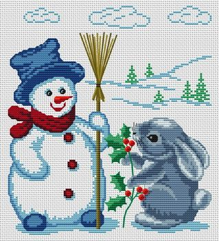 Snowman and Rabbit