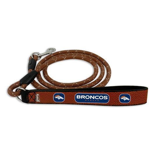 Denver Broncos Football Leather Leash - M Z157-1442802075