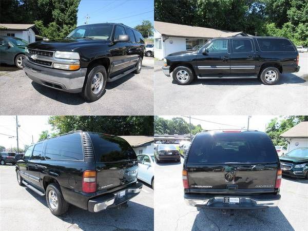 2002 Chevrolet Suburban  4DR SUBURBAN: 1500 LT Passenger Airbag Cd Pla (Cumming GA) $3880