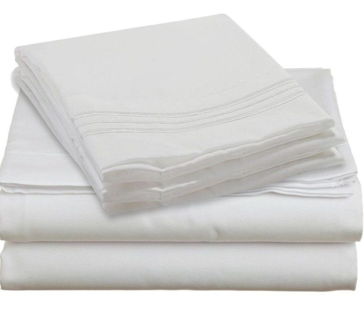 Queen size luxury bed sheet set fitted flat sheets 2 How to put a fitted sheet on a bed