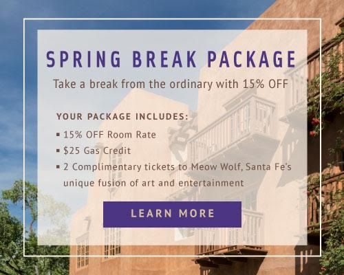 Enjoy the luxury of Hotel Santa Fe, The Hacienda and Spa, located near downtown Santa Fe. Book our boutique hotel in Santa Fe today!
