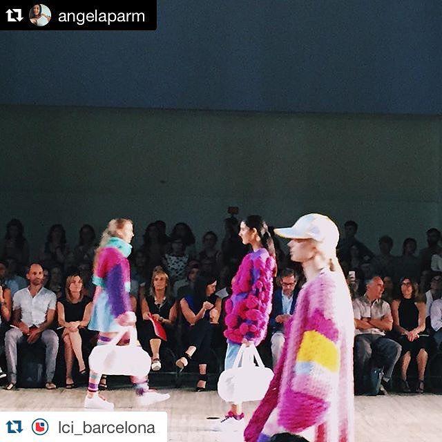 Aitana Baeza - Oops Loops LCI Barcelona Fashion Show