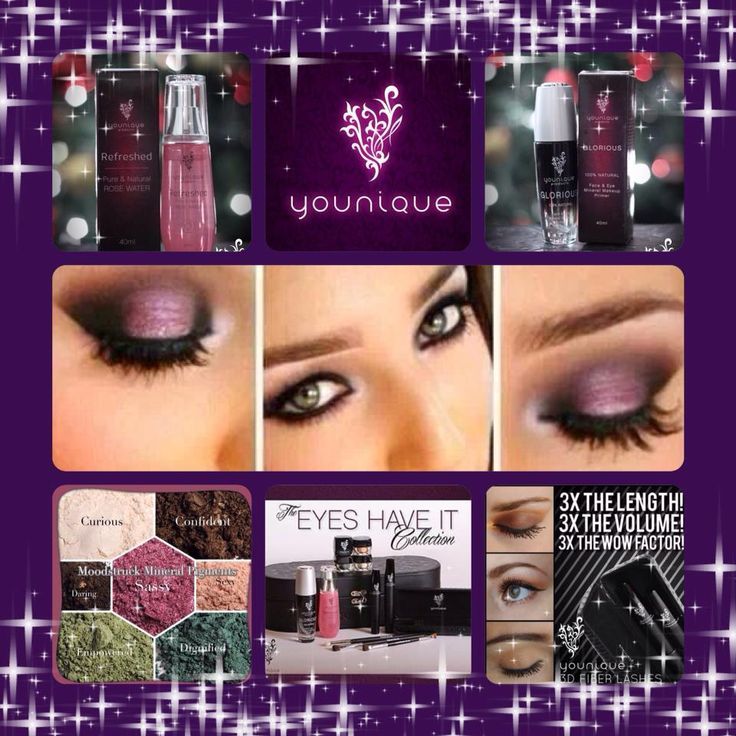 """Have a Younique on-line Party and earn FREE Younique Products!!!  Younique all natural mineral makeup. Shop 24/7 at Kathy's Day Spa! Younique Make-up, Try it, you will love it! Welcome to the """"On-line Make-up Spa Party""""!   Join my Team and have your own Make-up party business. So many ways to sell and earn residual  income!! https://www.youniqueproducts.com/KathysDaySpa"""