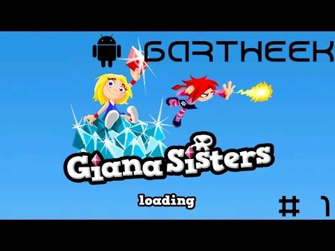 [# 1] Android : Giana Sisters - Levele Retro, pierwsze wkurwy