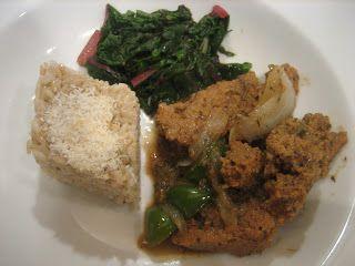 The Veracious Vegan: Jamaican Jerk Seitan with Coconut Rice