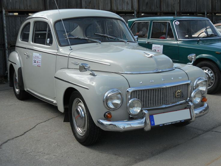 Volvo PV 544 (1960) Old and classic cars Pinterest