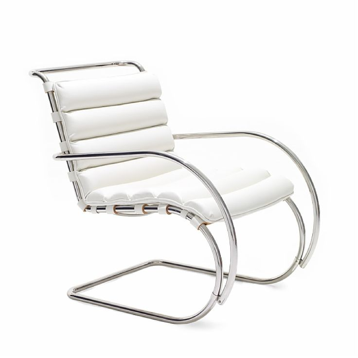 Mies Van Der Rohe Mr Lounge Arm Chair In 2021 Ludwig Mies Van Der Rohe Steel Furniture Design Van Der Rohe