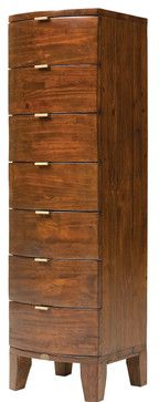 Bahama Lingerie Chest, Jamaican Sunset - tropical - dressers chests and bedroom armoires - Masins Furniture
