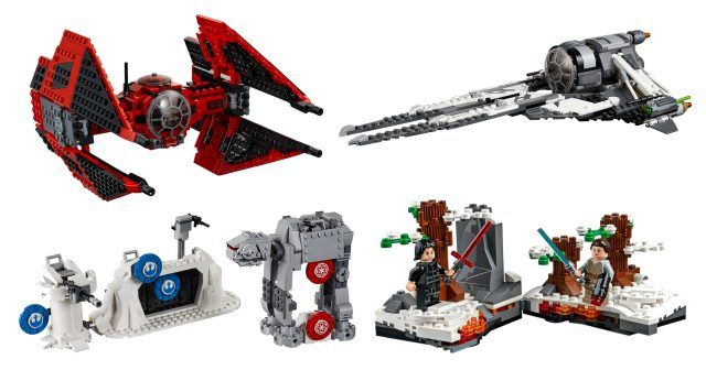 Lego Star Wars Sets From Resistance And More Unveiled At