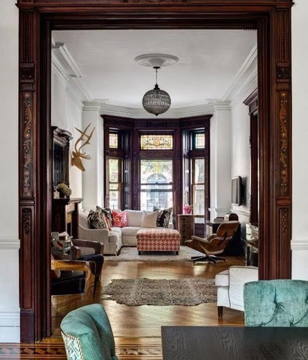 Decorating with wood trim | Victorian interiors, Victorian ...