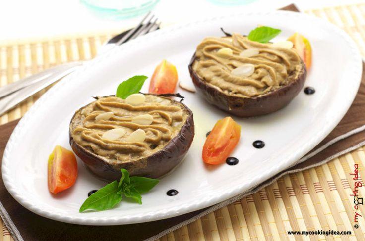 #Melanzane con #crema di #soia, non le solite melanzane. Ricetta per un #secondovegano dal gusto insolito.http://www.mycookingidea.com/2013/10/melanzane-con-crema-di-soia/