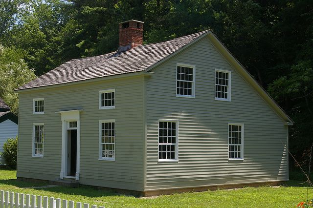 Authentic Colonial Saltbox House Plans Rv Carriage House