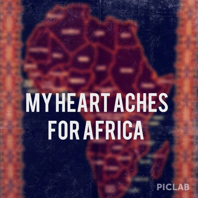 Take me back to Africa