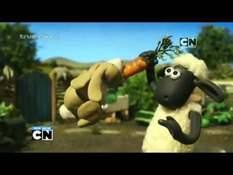 http://pinterest.com/pin/7248049377410924/  http://pinterest.com/pin/7248049377410914/ Cartoon Network Asia :Shaun the Sheep [Promo]