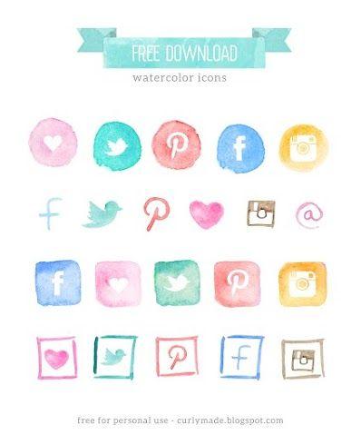 Näytetään Free Watercolor Social Media Icons  Blog Restyle.jpg