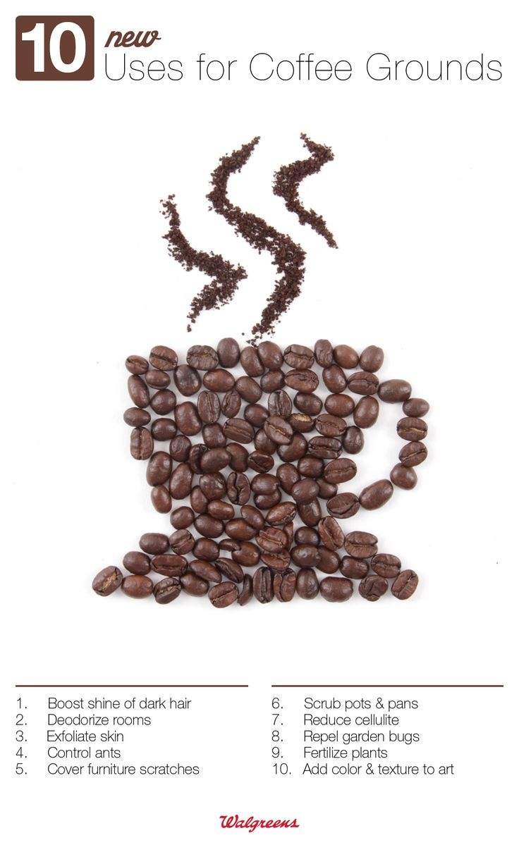 10 New Uses for Coffee Grounds