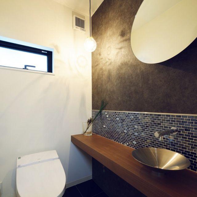 kikiさんの、水栓,リクシル,名古屋モザイクタイル,タイル,トイレ,バス/トイレ,のお部屋写真