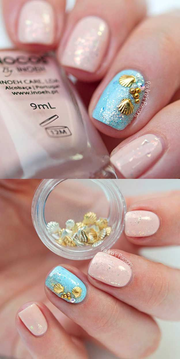 beach nail art ideas