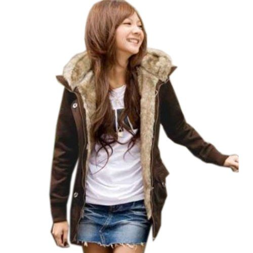 Amazon.co.jp: モッズコート ミリタリー ジャケット レディース アウター パーカー ファー 【大きいサイズ対応】M L XL 2L XXL 3L XXXL 4L サイズ: 服&ファッション小物通販