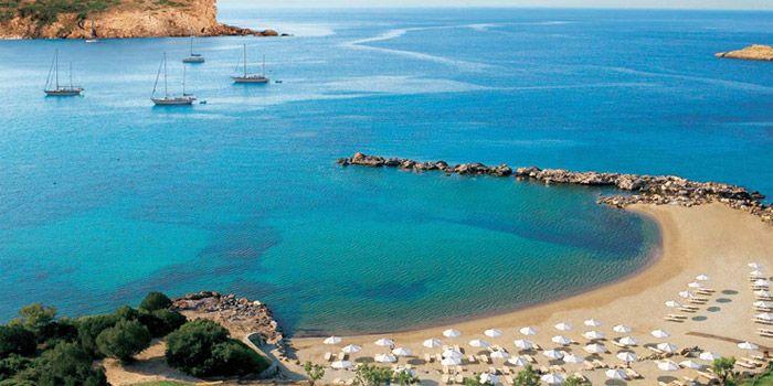 Пляж мыса Сунион