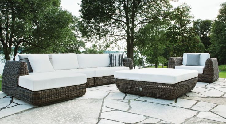 Amazing outdoor living room  from Jardin de Ville in our summer issue #Mixte15 #magazine #patio #livingroom #outdoors #decor #editorial