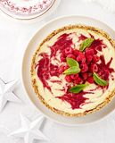 Raspberry Swirl Cheesecake from Sarah Wilson's I quit Sugar Christmas Cookbook 2013