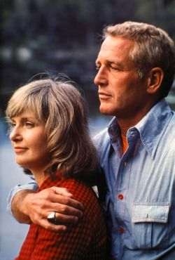 Paul Newman & Joanne Woodward......Uploaded By  www.1stand2ndtimearound.etsy.com