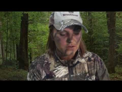 ▶ How to Apply Camo Face Paint For a Turkey Hunt - YouTube