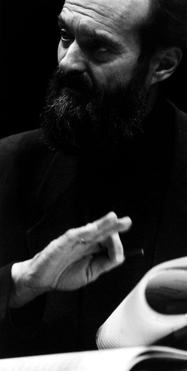 Greatest living composer: Arvo Part. Photo Thomas Fricke (1999)