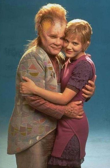 Star Trek Voyager. I always had a love-hate thing with Neelix but I loved Kes. She was awesome!