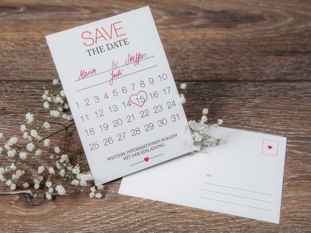 Einladungskarten   Save The Date Karte  DIY Neue Kollektion!   Ein  Designerstück Von