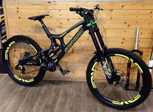 209 best bike images on pinterest bicycling bike workouts and santa cruz v10 carbon with dvo emerald thecheapjerseys Gallery