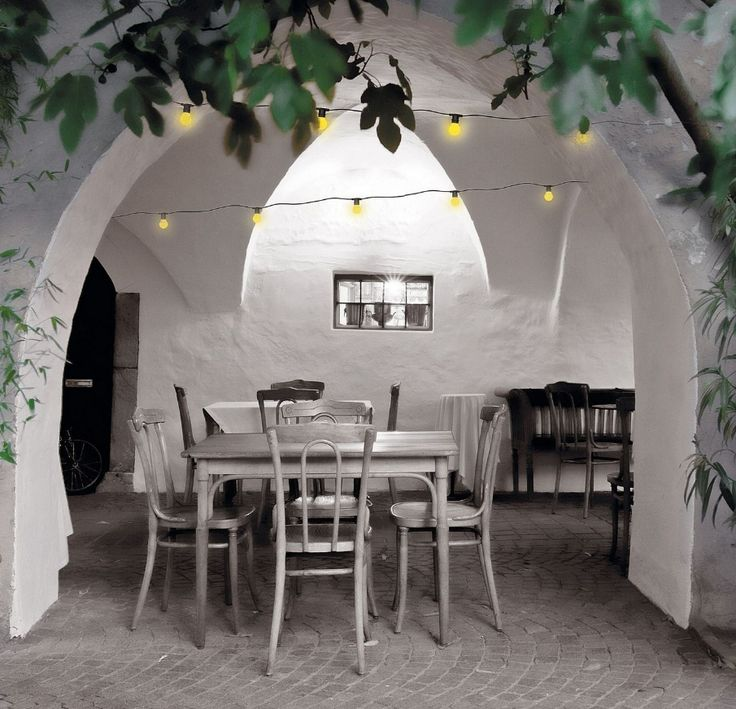 25 beste idee n over guirlande lumineuse exterieur op pinterest d coration guirlande - Decoratie gevel exterieur huis ...