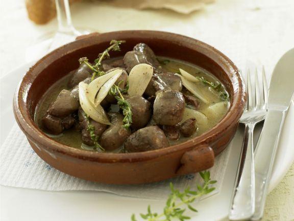 Sherry-Kalbsnieren ist ein Rezept mit frischen Zutaten aus der Kategorie Fleisch. Probieren Sie dieses und weitere Rezepte von EAT SMARTER!