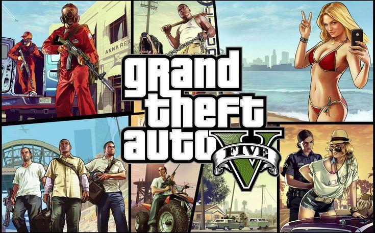 GTA V - GTA 5 - Probando el nuevo juego Grand Theft Auto 5 | MagazineGames.com
