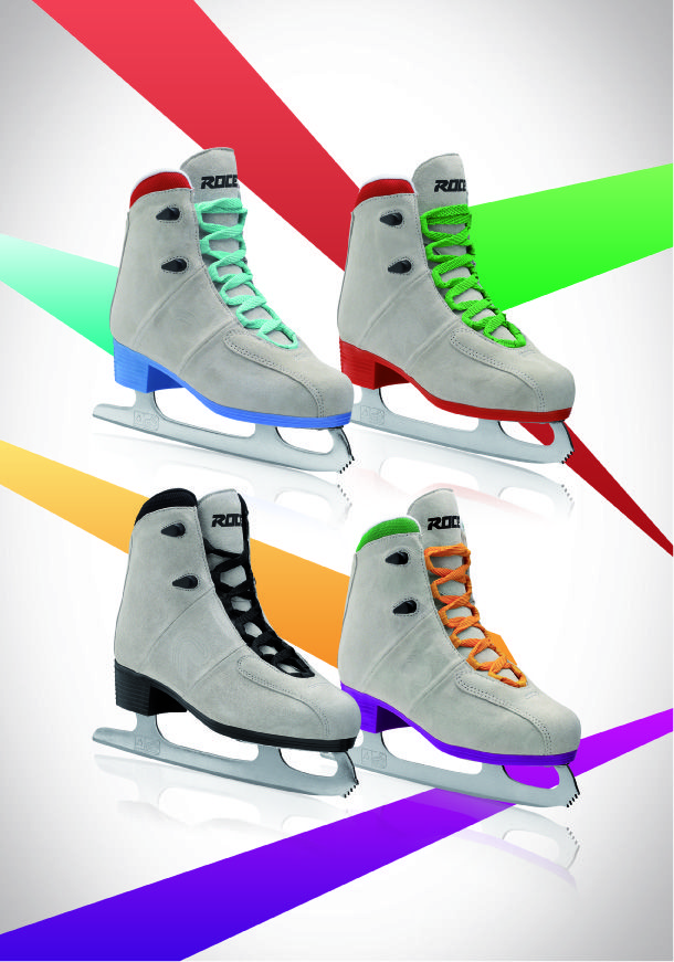 Any #color you like... here is the UPBEAT by #Roces, your #iceskates for the upcoming winter!