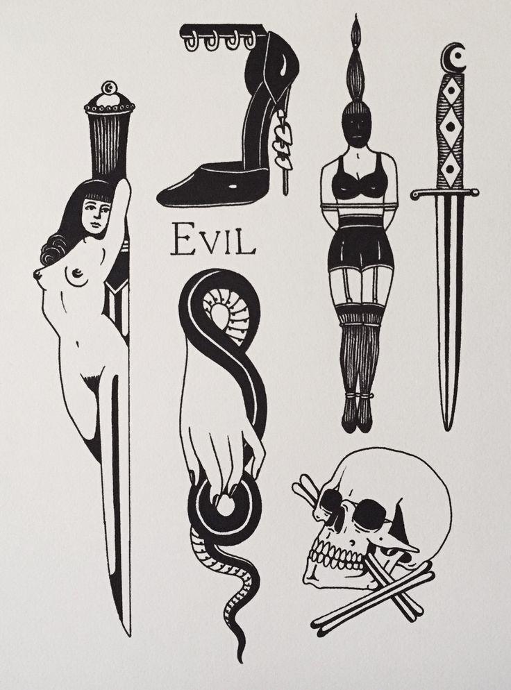 occult tattoo - Google-søk                                                                                                                                                                                 More