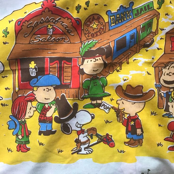 Charlie Brown Twin Fitted Sheet Snoopy Cowboy Lucy Mermaid Astronaut Peanuts   | eBay