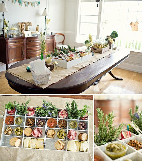 Display Baby Shower: 17 Best Images About Food Display Ideas. On Pinterest