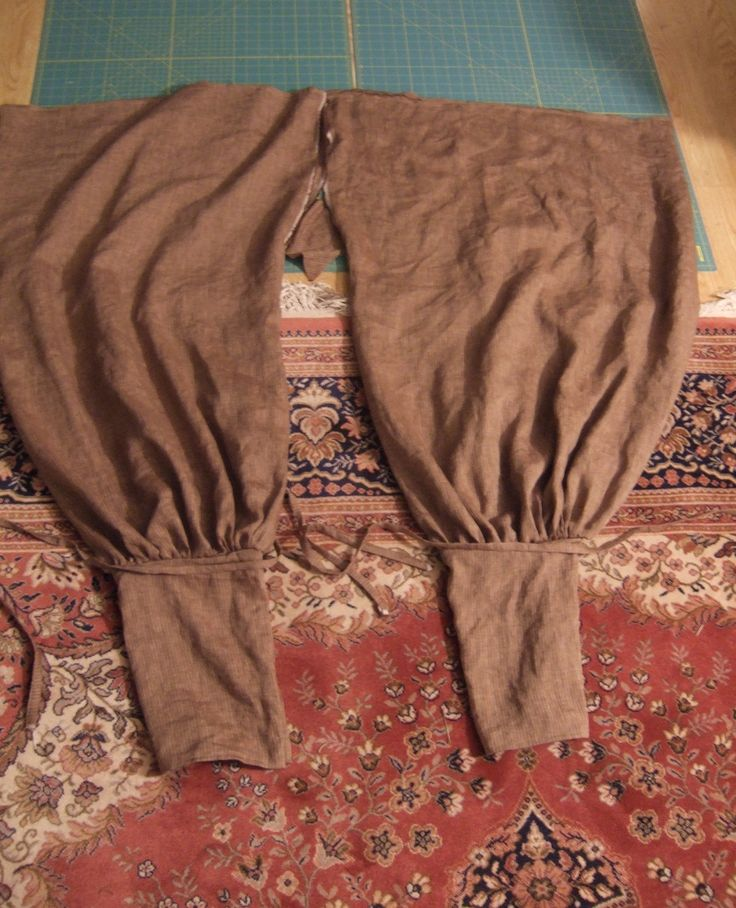 Viking pants tutorial
