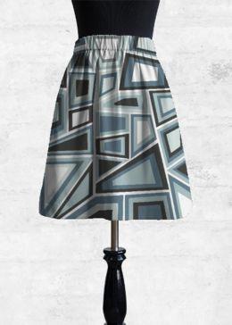 Cupro Skirt - Cathedral by VIDA VIDA Cheap Online Shop Free Shipping Cheap Quality Hot Sale Cheap Online Buy Cheap Order Footaction Cheap Price ptWSTEw3T